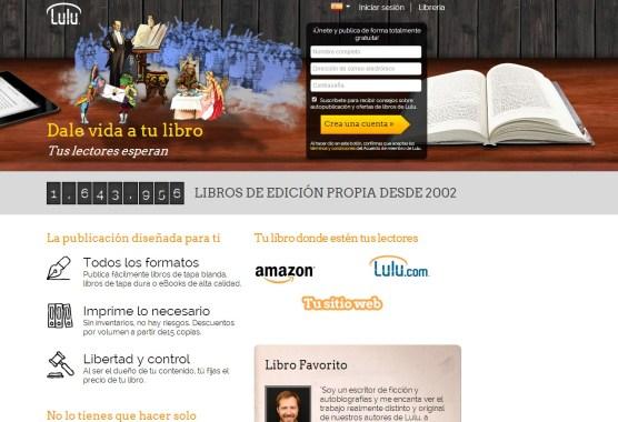 Publicar libro online en Lulu