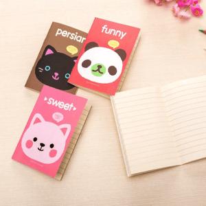 Cuaderno Libreta Panda