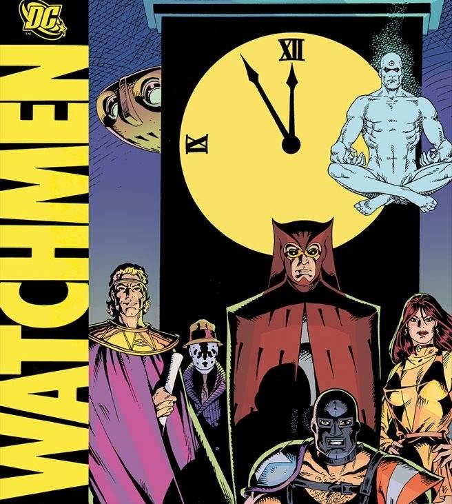 watchmen novela grafica