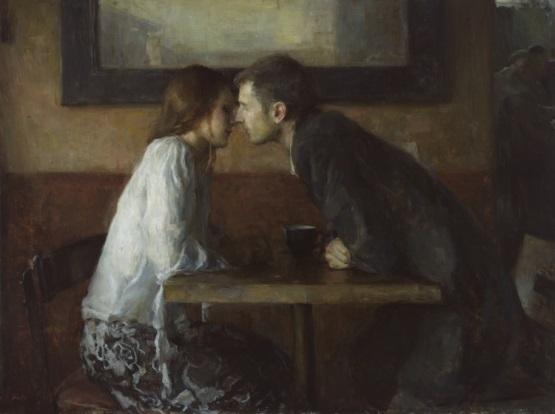 Ron Hicks pintura amor