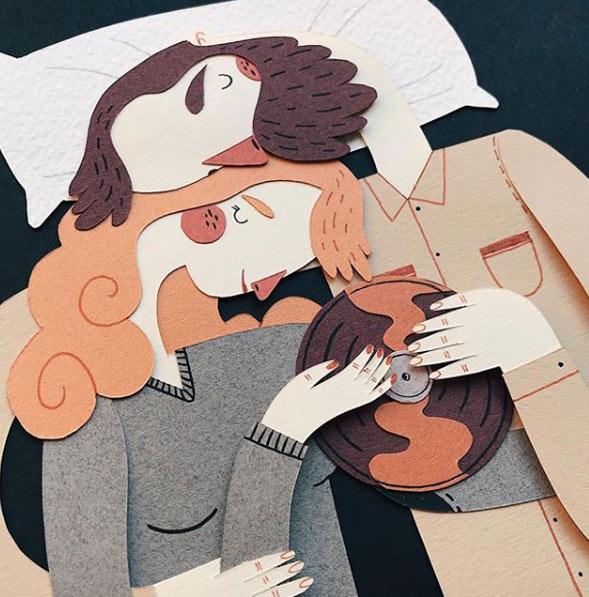 Ilustraciones con Paper Craft Jotaka