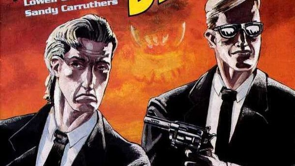 men in black comics