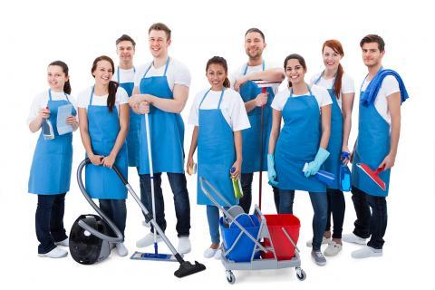 Temizlik Çalışma Alanları
