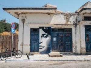 Vesnička Filoti na ostrově Naxos
