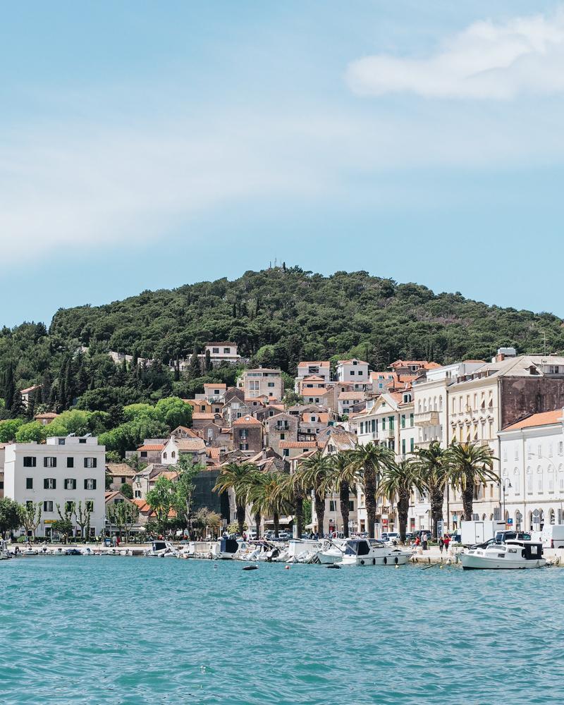 Promenáda Riva ve Splitu