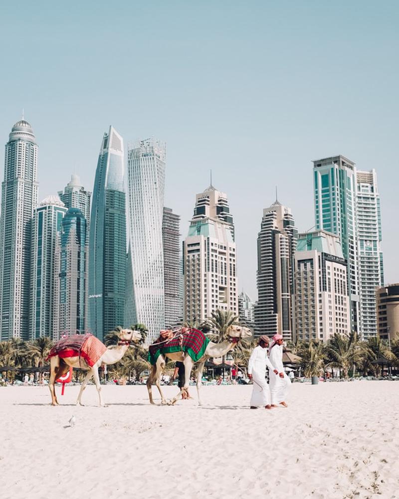 Online cestování - Dubaj