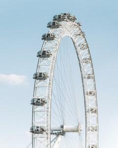 Online cestování - London Eye, Londýn