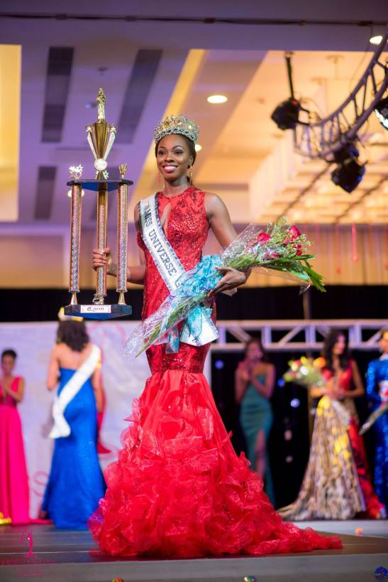 Soyini Fraser was crowned Miss Universe Guyana 2016!