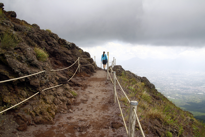 Image result for hiking mt vesuvius
