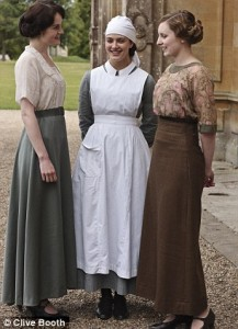 The Crawley ladies post war style (Downton Abbey)