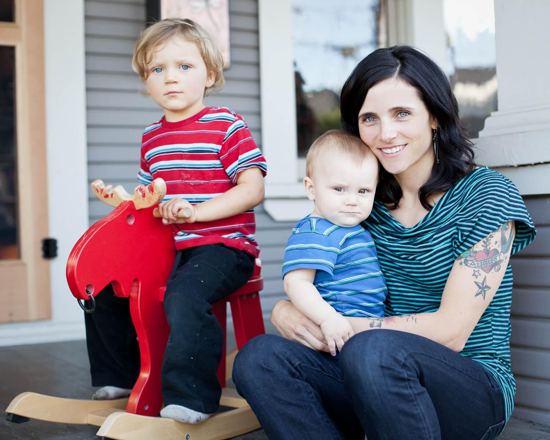 Greenwald Betz Family Portrait | Pittsburgh Family Photographer