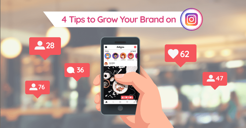 Tips to grow your brand on Instagram