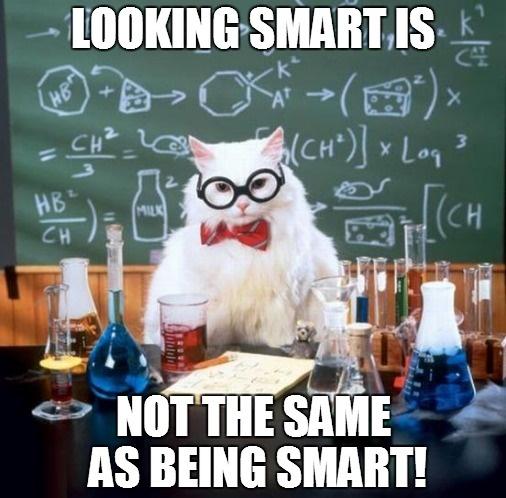 looking_smart