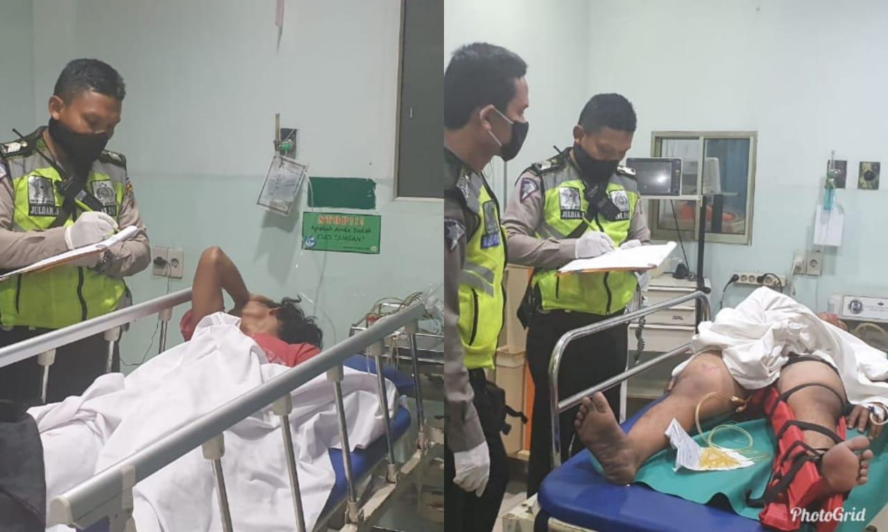 Kecelakaan Di Siantar Dua Warga Simalungun Luka Luka Harian Mistar