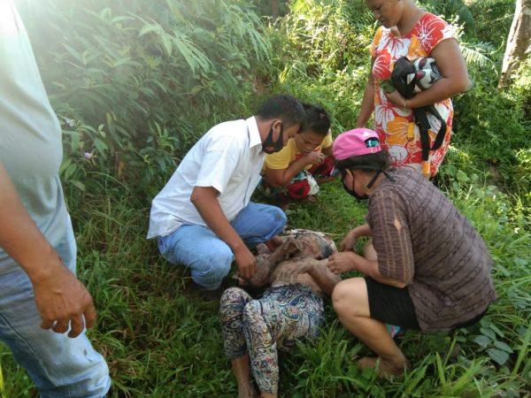 Tak Pulang Tiga Hari, Mariatur Br Sihombing Ditemukan Terkapar di Pinggiran Sungai