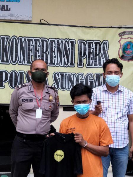 Dua Bulan Diburon, Pelaku Curanmor Ditangkap Polsek Sunggal
