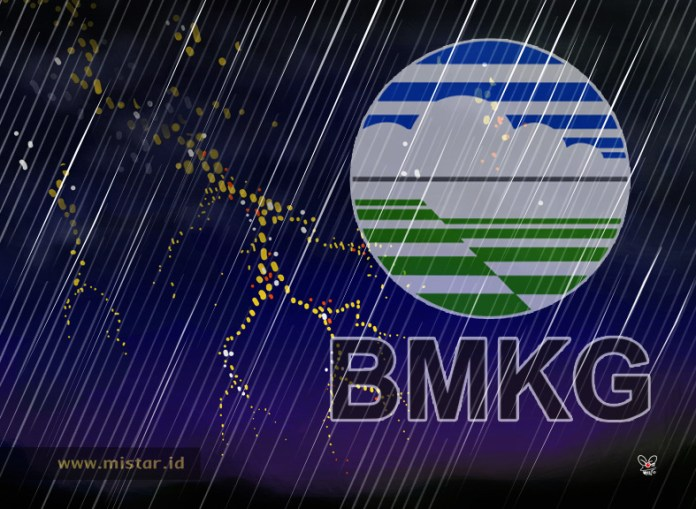Sebagian Jakarta bakal dilanda hujan deras