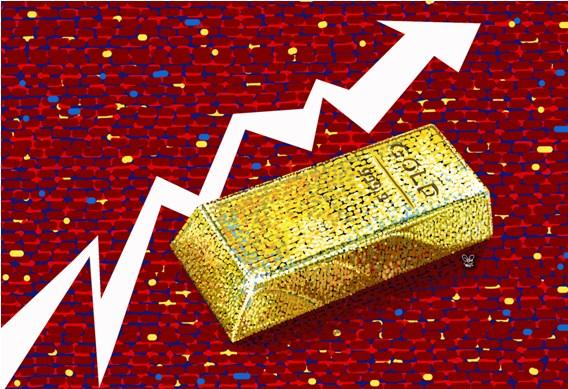 Harga Emas Kembali Terangkat 3,6 Dolar
