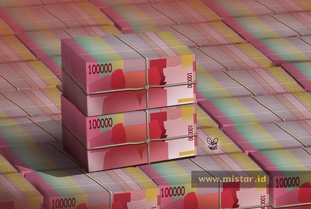 Rupiah Merosot ke Rp14.450/US$