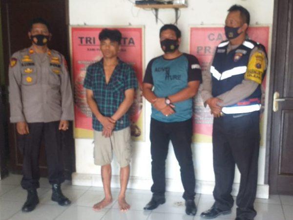 Pelaku Penusukan Pakai Gunting di Samping Pos Polisi Siantar Ditangkap