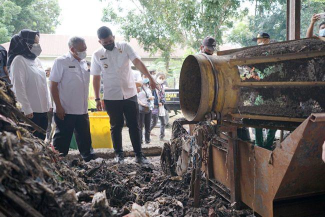 Mantap! Pemko Medan Kelola 2.000 Ton Sampah Menjadi 30 Ton Pupuk Per Hari