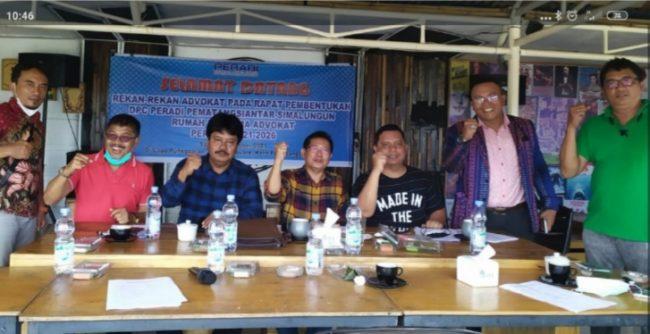 Daulat Sihombing Jadi Ketua DPC Peradi Siantar-Simalungun RBA