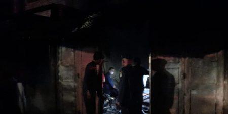 Bengkel di Jalan Ayahanda Medan Terbakar