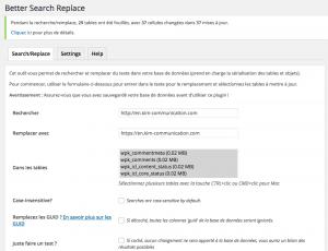 Better Search & Replace HTTP en HTTPS