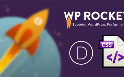 Fix the Divi CSS broken using WP Rocket cache plugin