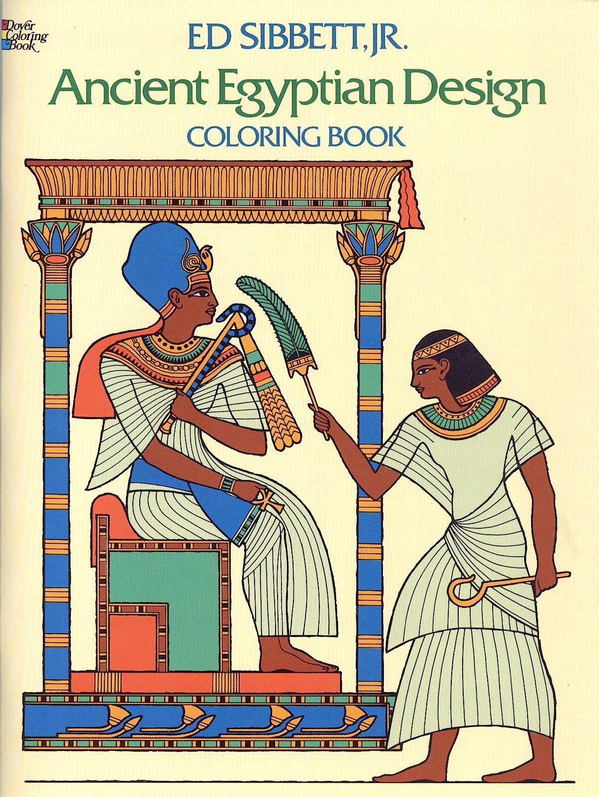 Ancient Egypt Designs Coloring Book