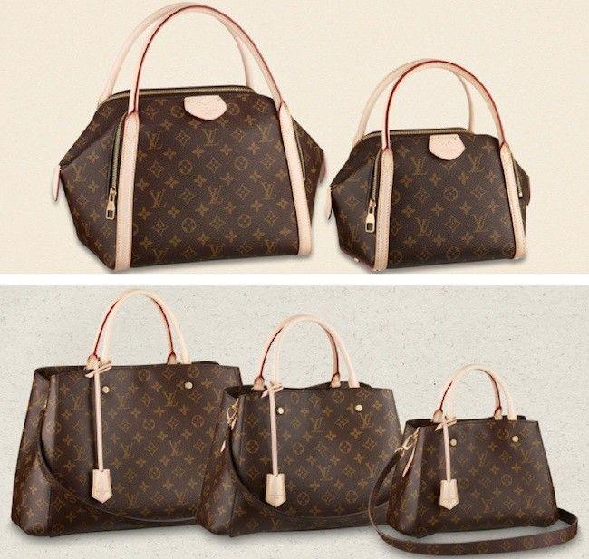 6d5c53c67 Louis Vuitton se ha tomado en serio la frase »año nuevo vida nueva» aunque  podríamos decir »bolsos nuevos», creando el modelo Marais y el modelo  Montaigne.