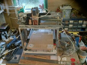 "Latest Sculpture, The Repstrap 3D printer named, "" The * WILDCARD * Creator """