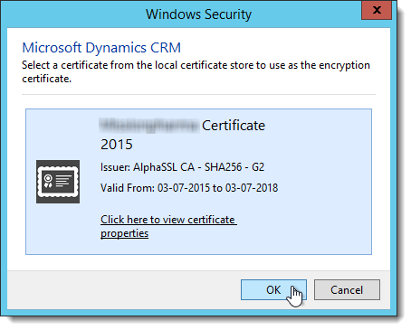 """Resolving """"A certificate registered for use by Microsoft"""