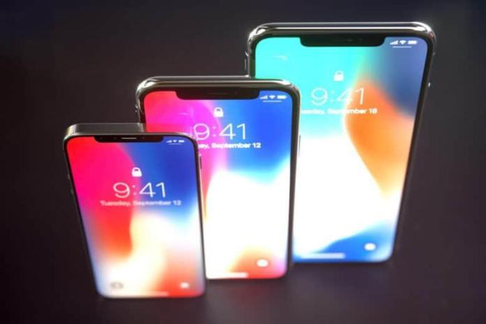 iPhone Xs, Xr, Xs Max à la keynote