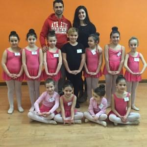Primi esami per le ballerine di Danza Classica