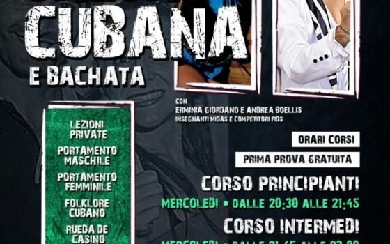 TORNA IL CORSO DI SALSA CUBANA E BACHATA