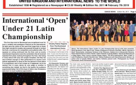 Su Dance News gli atleti Natalia Arci & Alessandro Romano