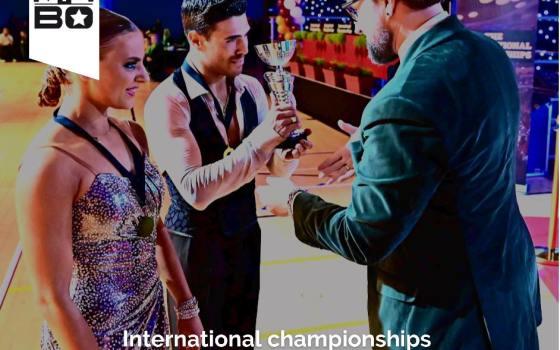 Angelo Serena & Natalia Horvathova hanno vinto The International Championships