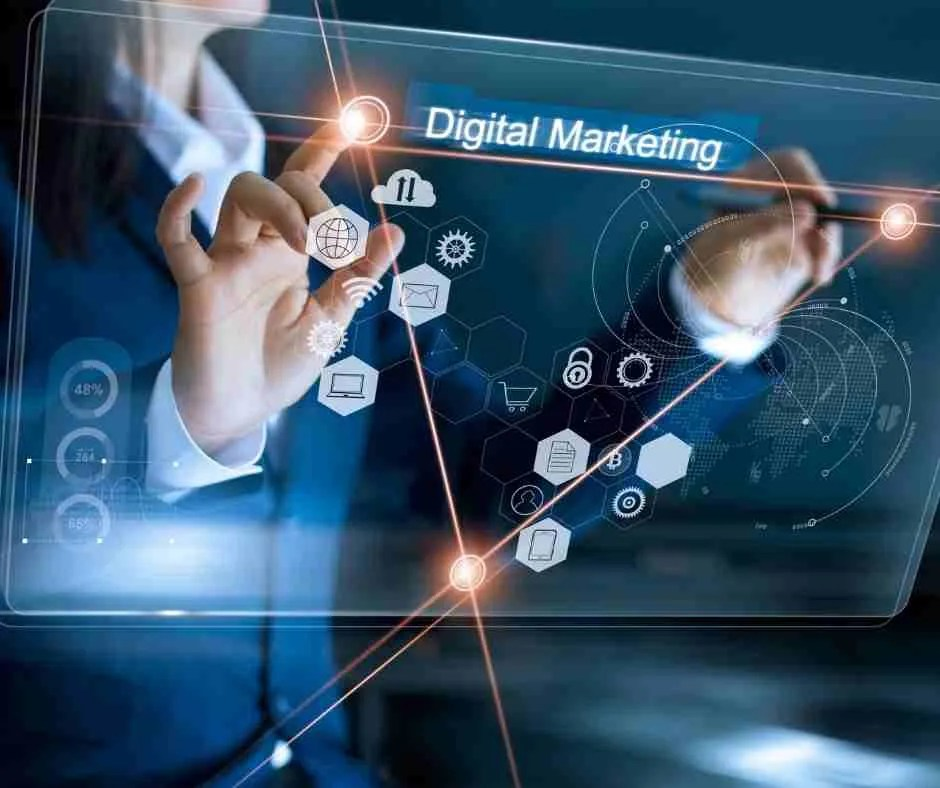 money from internet-digital marketing picture