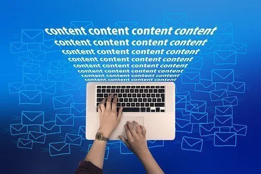 """computer with """"content"""" written 32 times above it"""