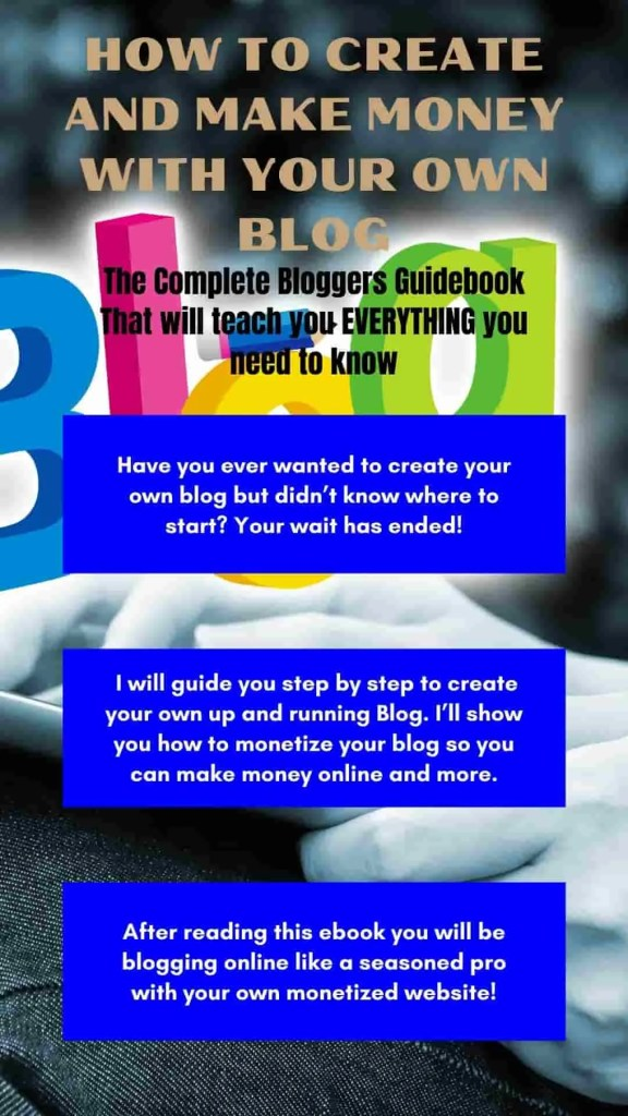 How to start a blog graphic