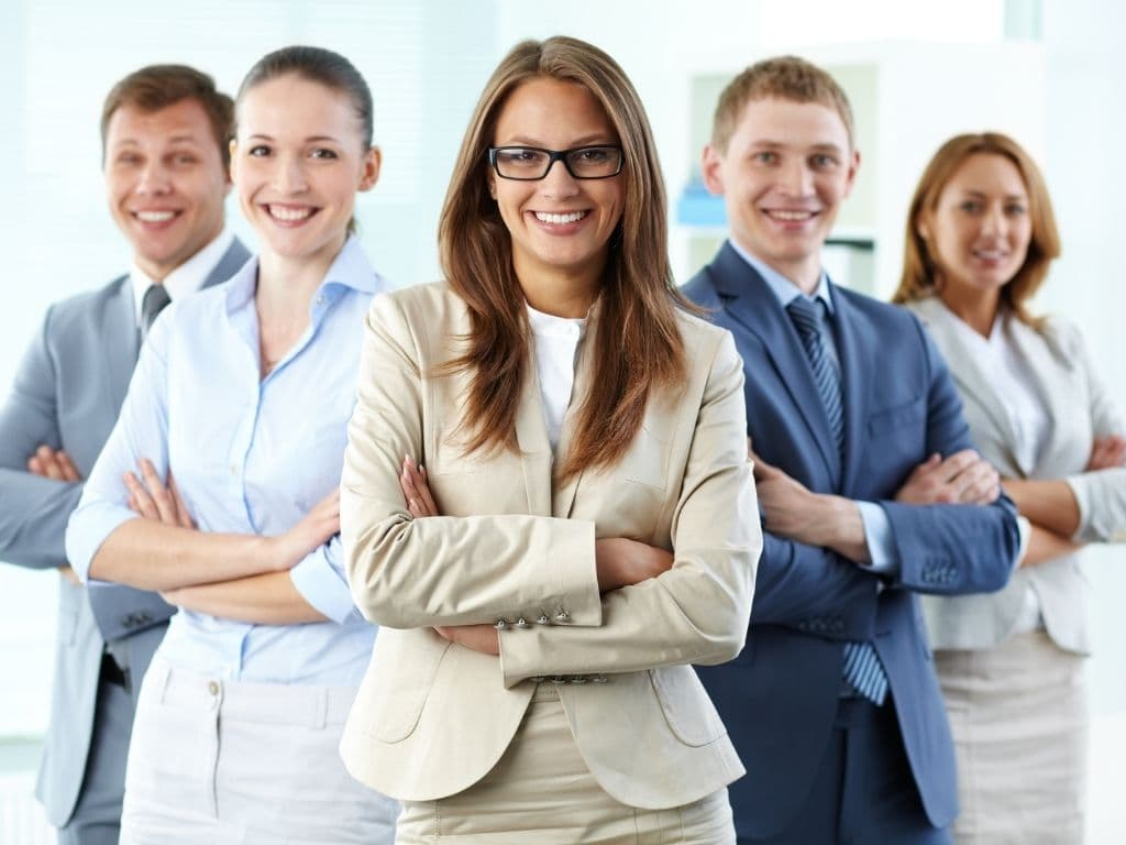 Signs of leadership- happy employees