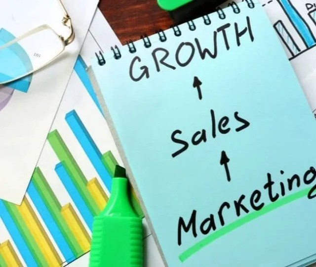 Sales and marketing- graph