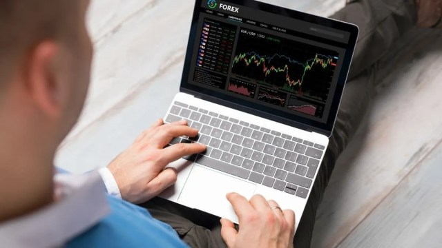 Most Undervalued Stocks Today on computer monitor
