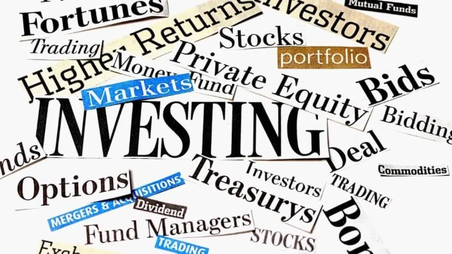 investing sign