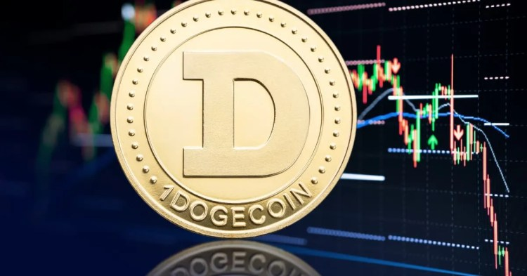 Picture of a Dogecoin.