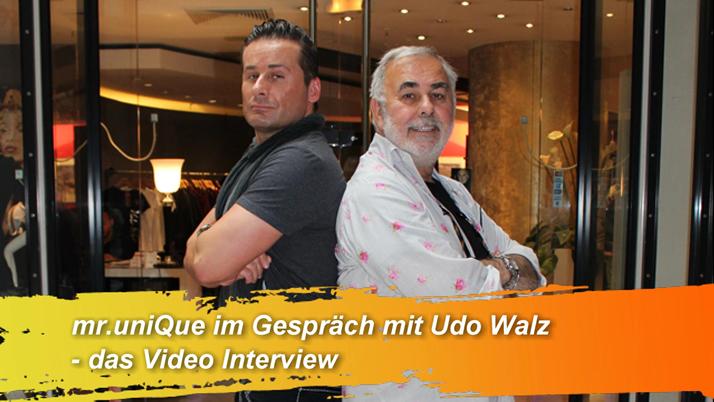 Mister UniQue im Video-Interview mit… Udo Walz, dem bekanntesten Frisör Deutschlands