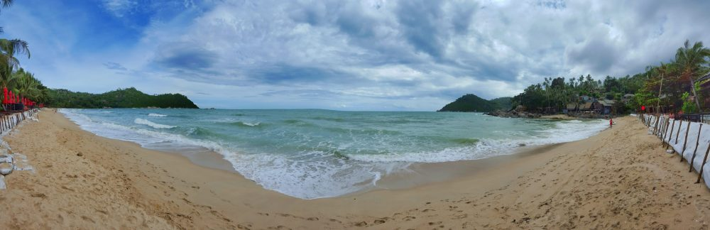 Ist diese Bucht nicht ein Traum? Aber das muss gesagt sein, sie liegt sehr abgeschieden und ist somit wahrscheinlich nur geeignet für einen schönen Pärchenurlaub.