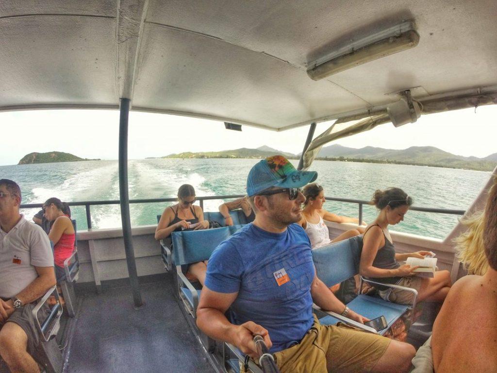 Nun geht es zum letzten Mal mit einer Fähre von Koh Phanghan nach Koh Samui. Die letzte richtige Insel auf meinem Trip und auch die größte in diesem Dreierbund.