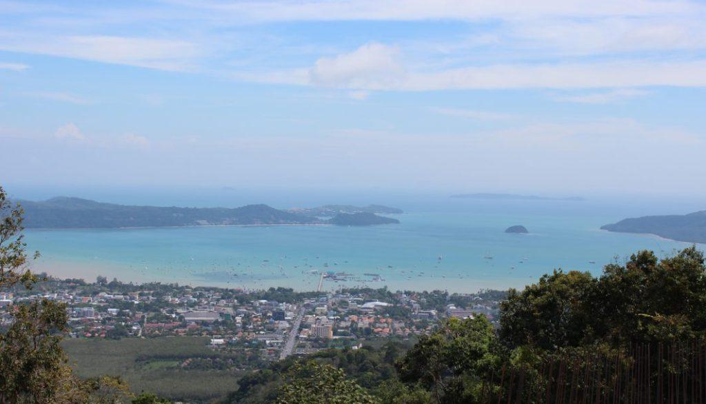 Blick in den Süden der Insel.